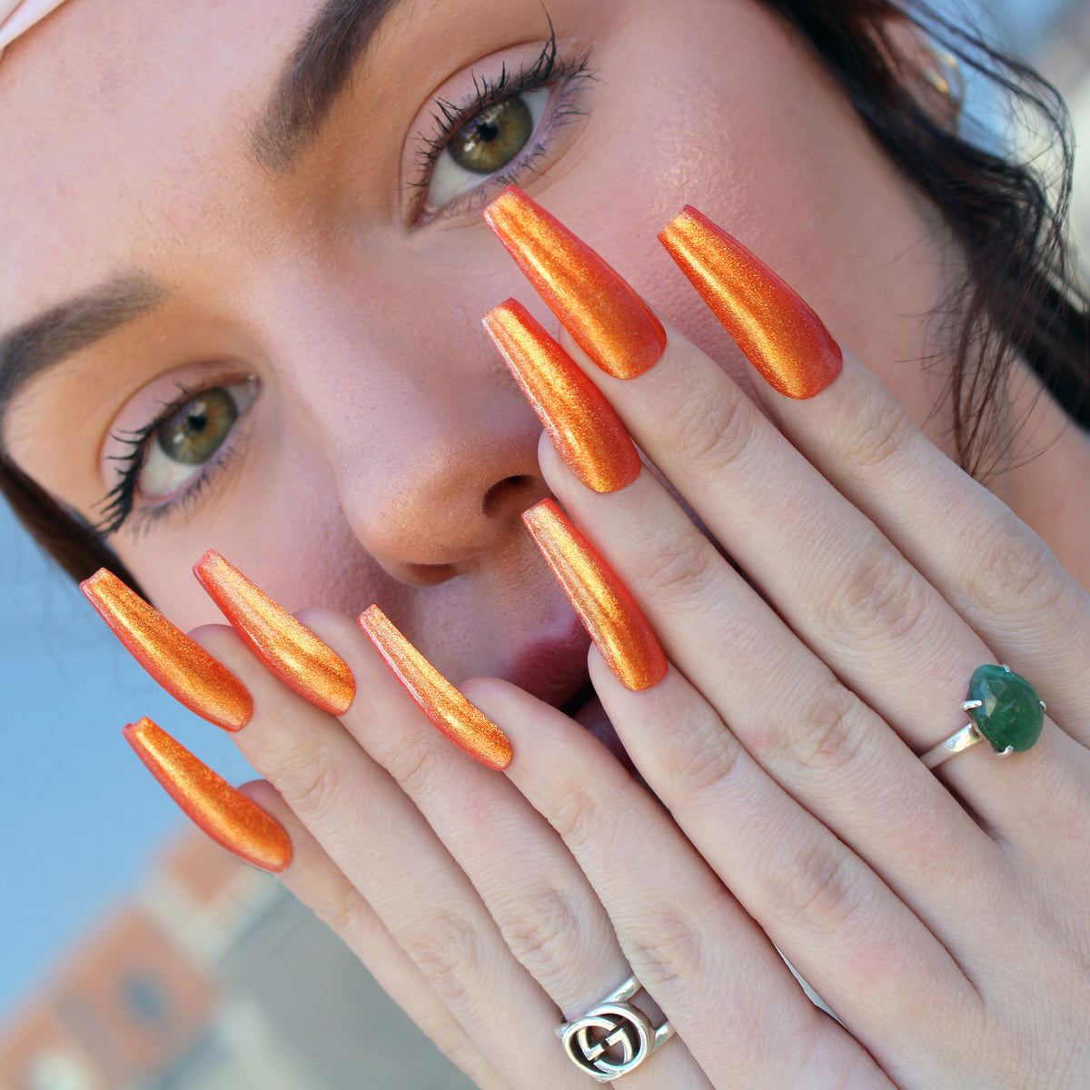 Tangerine Pop Nail Polish