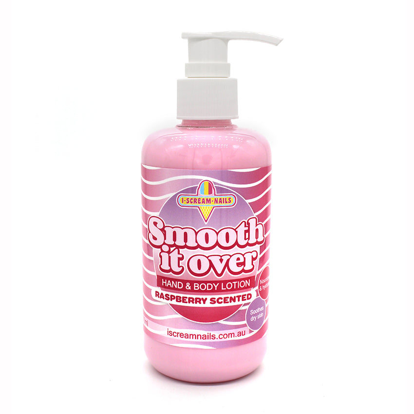 Smooth it Over Hand and Body Lotion - Raspberry scented 250ml