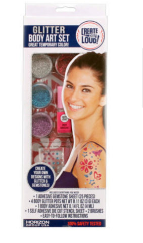 Glitter Body Art Set (Available in a pack of 24)