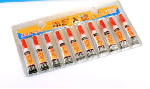 All Purpose Instant Super Glue Tube (Available in a pack of 30)
