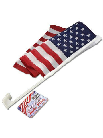 Patriotic Auto Flag (Available in a pack of 24)