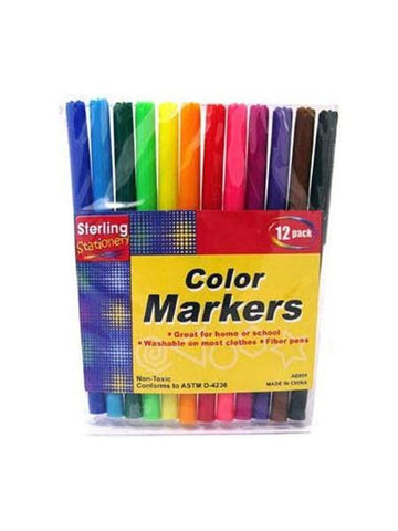 Color Marker Set (Available in a pack of 24)