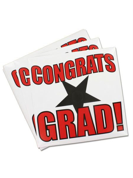 Mortarboard Stickers (Available in a pack of 10)