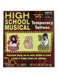 High School Musical Tattoos (Available in a pack of 24)