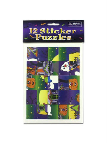 Halloween Sticker Scrambles (Available in a pack of 24)