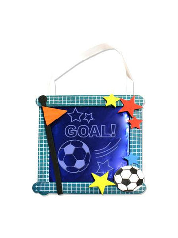Soccer Banner Craft Kit (Available in a pack of 24)