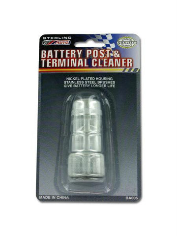 Battery Post Terminal Cleaner (Available in a pack of 24)