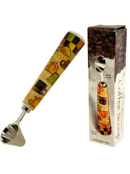 Coffee Dreams Coffee Scoop with Ceramic Handle (Available in a pack of 24)