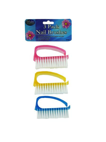 Nail Brush Set (Available in a pack of 12)