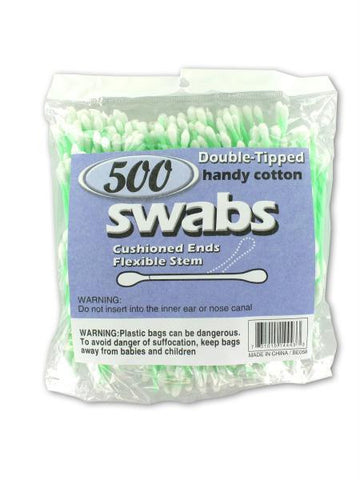 Double-Tipped Cotton Swabs (Available in a pack of 24)