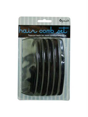 Hair Comb Set (Available in a pack of 24)