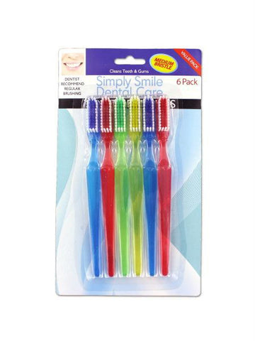 Deluxe Toothbrush Set (Available in a pack of 12)