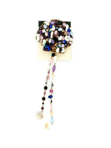Beaded Hair Comb (Available in a pack of 8)