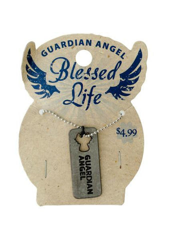Blessed Life Dog Tag Necklace (Available in a pack of 24)