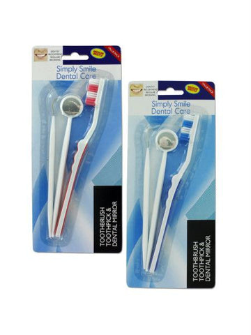 Dental Hygiene Kit (Available in a pack of 24)