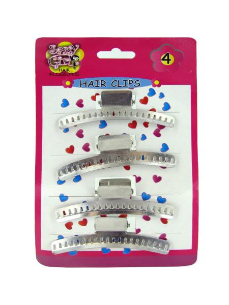 Metal Hair Clips Set (Available in a pack of 24)