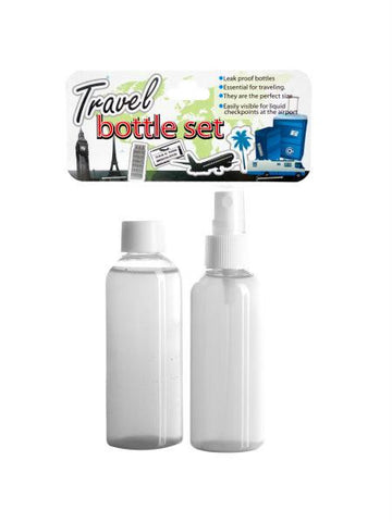 Travel Bottle Set (Available in a pack of 24)
