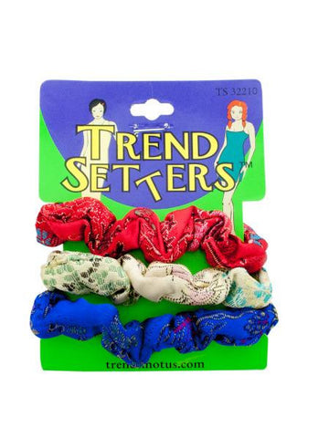 Asian Fabric Hair Twisters Set (Available in a pack of 24)