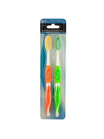 Soft Grip Toothbrush Set (Available in a pack of 24)