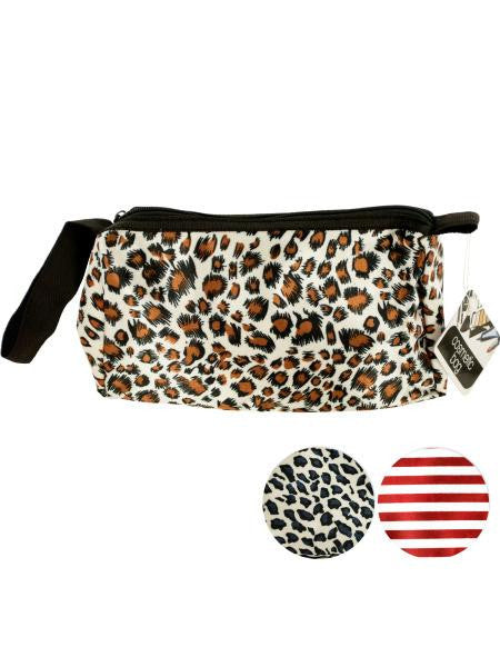 Stylish Cosmetic Bag with Carrying Strap (Available in a pack of 12)