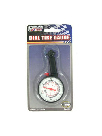 Dial Tire Gauge (Available in a pack of 24)