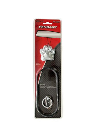 Paw Keychain Auto Pendant (Available in a pack of 12)