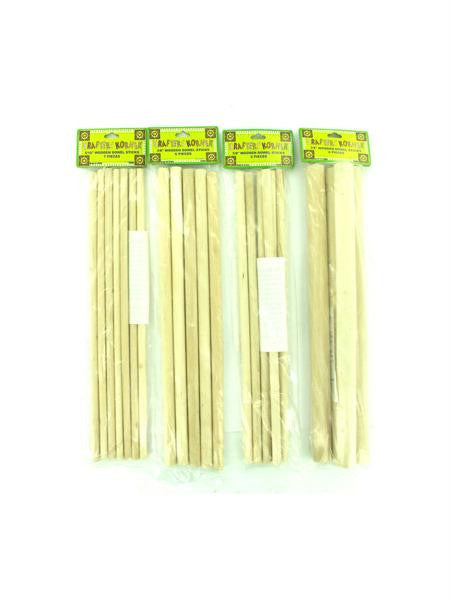 Wooden Dowel Craft Sticks (Available in a pack of 12)