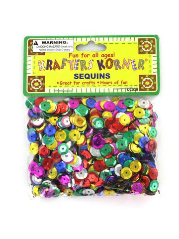 Round Colored Sequins (Available in a pack of 24)