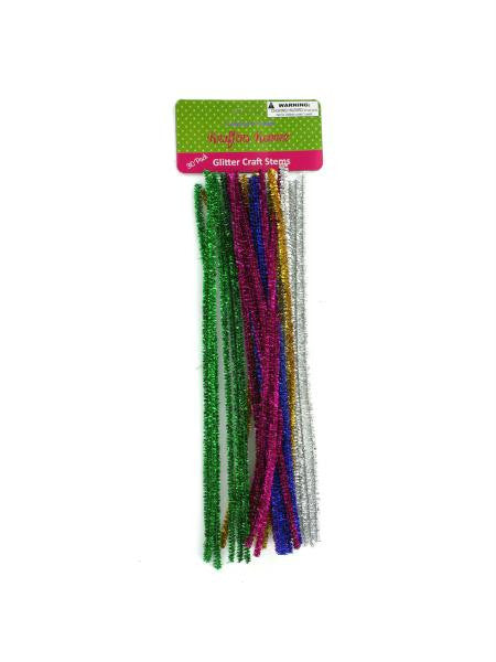 Glitter Craft Stems (Available in a pack of 12)