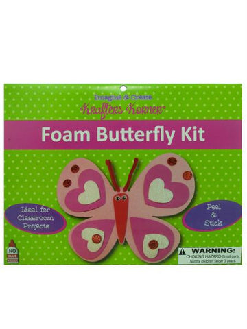 Foam Butterfly Kit (Available in a pack of 24)