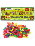 Star Shaped Crafting Beads (Available in a pack of 24)