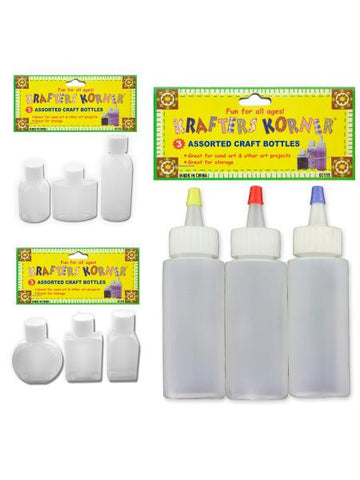 Small Craft Bottles (Available in a pack of 12)