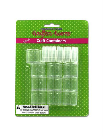 Small Craft Containers (Available in a pack of 12)