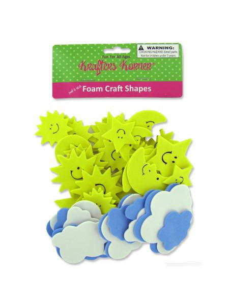 Sky Foam Craft Shapes (Available in a pack of 12)