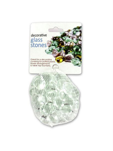 Clear Decorative Glass Stones (Available in a pack of 24)