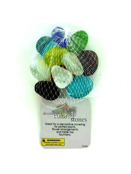 Decorative Colored Stones (Available in a pack of 24)