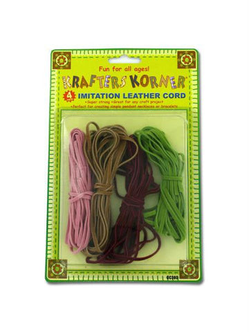 Imitation Leather Cords (Available in a pack of 12)