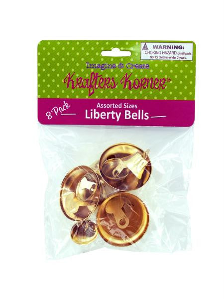 Gold Crafting Liberty Bells (Available in a pack of 24)