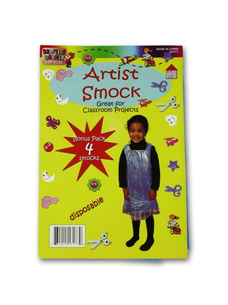 Disposable Children's Artist Smock Set (Available in a pack of 24)