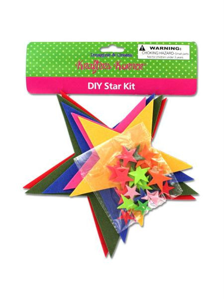 Do-It-Yourself Foam Star Craft Kit (Available in a pack of 12)