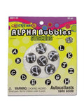 Alpha bubble stickers (Available in a pack of 18)