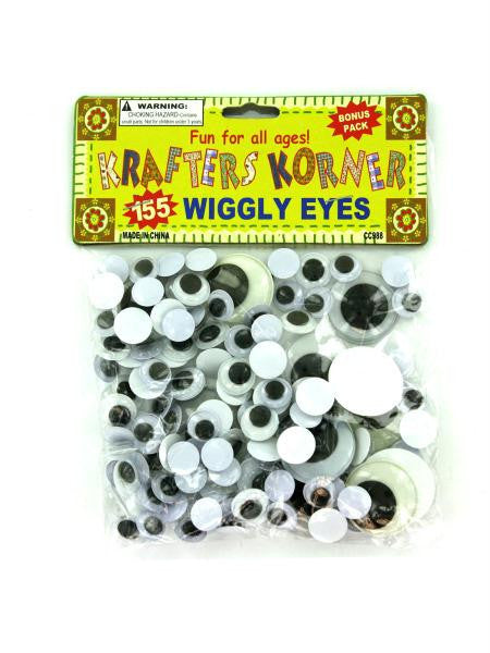 Craft Wiggly Eyes (Available in a pack of 24)