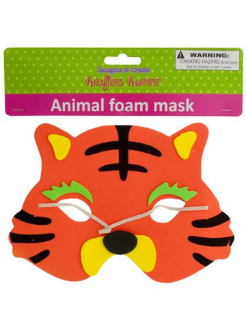 Animal Foam Mask (Available in a pack of 12)