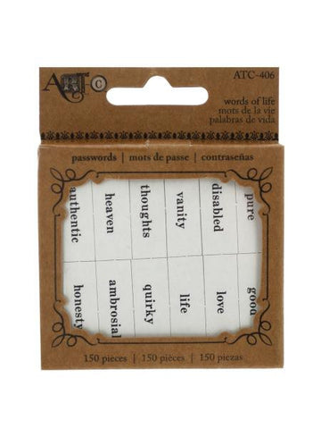 Words of Life Paper Craft Passwords (Available in a pack of 18)