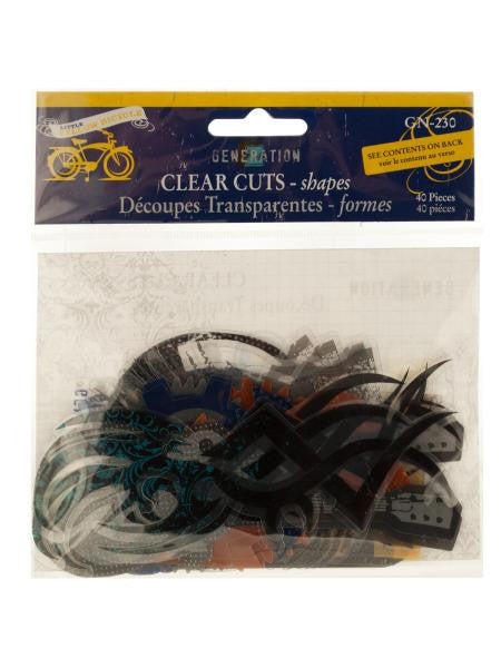 Clear Cuts Xtreme Generation Shapes (Available in a pack of 24)