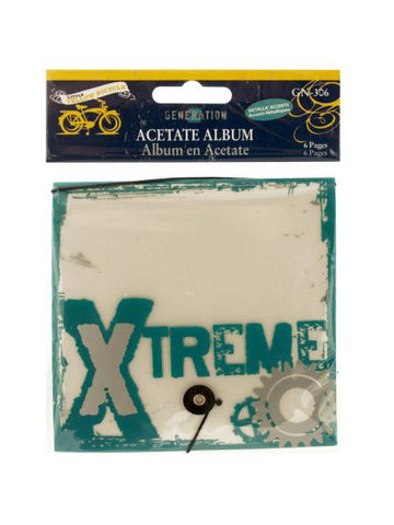 Xtreme Generation Acetate Album (Available in a pack of 24)