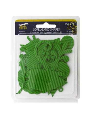 Christmas Joy Corrugated Shapes (Available in a pack of 24)
