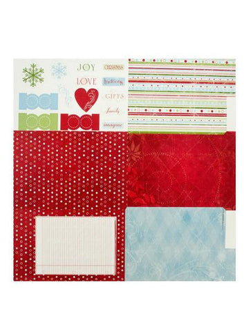 Christmas Fold-Out Die-Cut Album Kit (Available in a pack of 25)