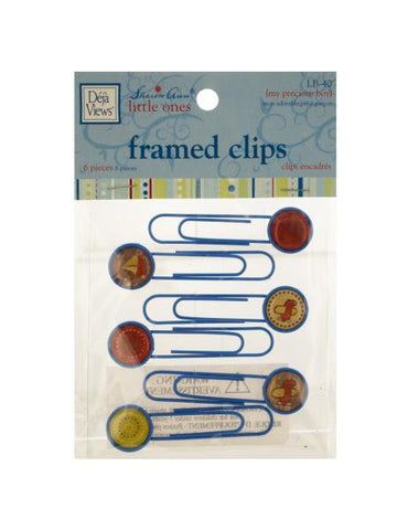 My Precious Boy Framed Craft Clips (Available in a pack of 24)
