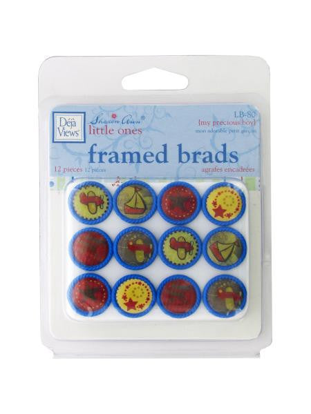 My Precious Boy Framed Brads (Available in a pack of 24)